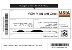 Member Ticket