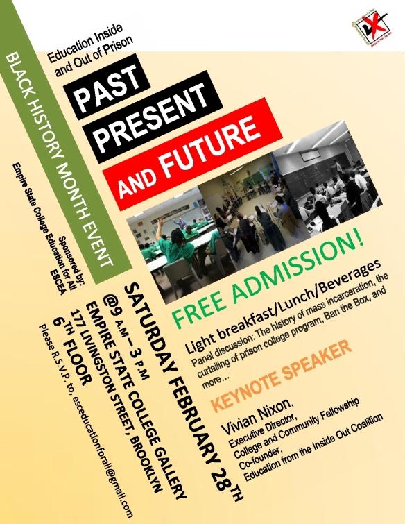 Education Prison Event