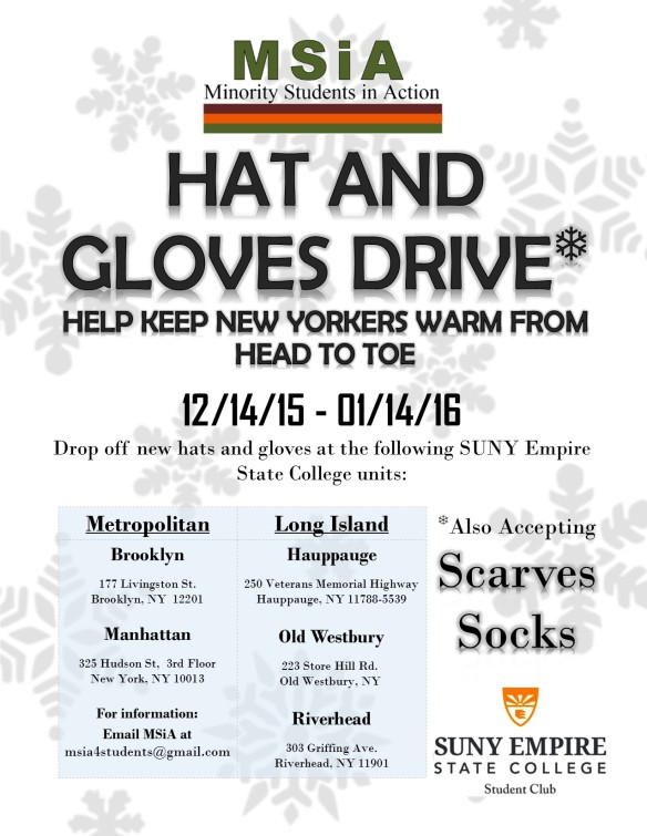 Hat and glove drive_2015
